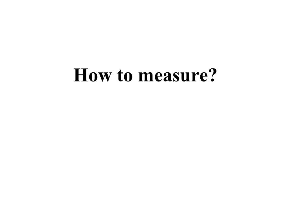 How to measure? 1. HI 21-cm Emission