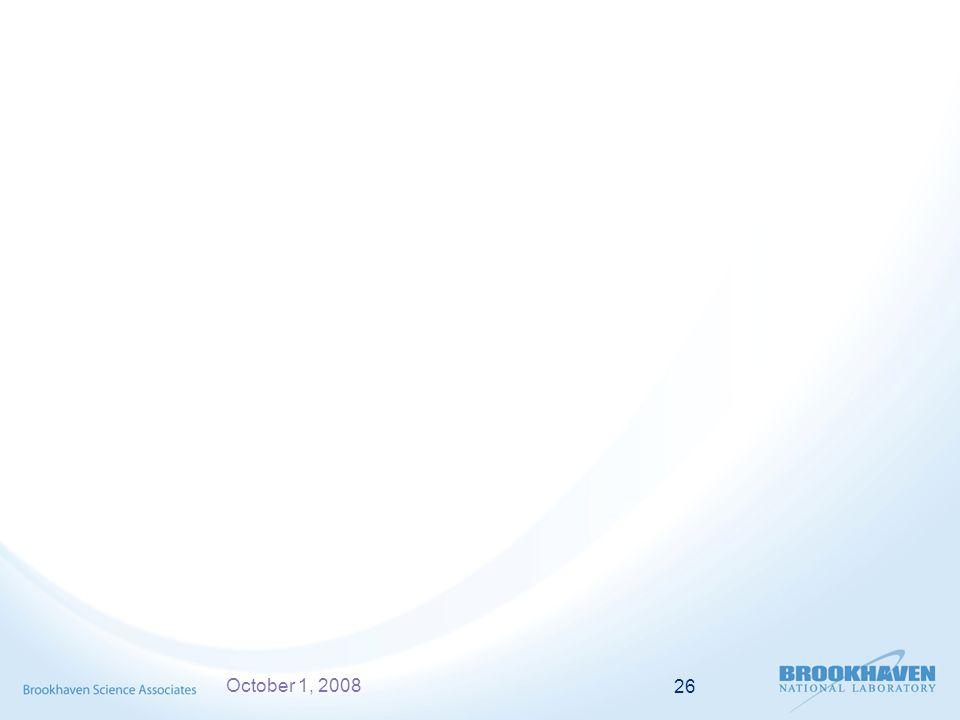 October 1, 2008 26