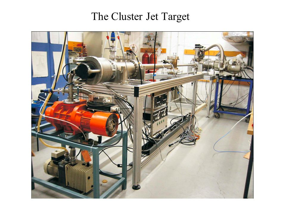 The Cluster Jet Target