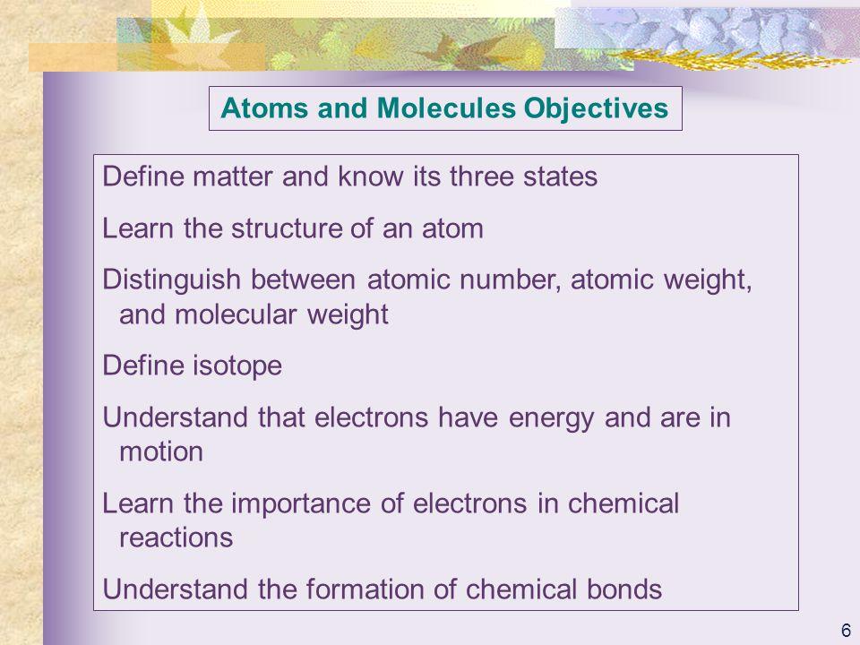 37 Inorganic Compounds Objectives Distinguish between inorganic and organic compounds.