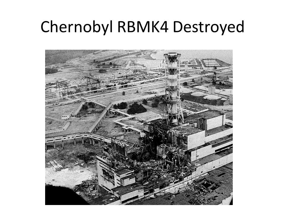 Chernobyl RBMK4 Destroyed
