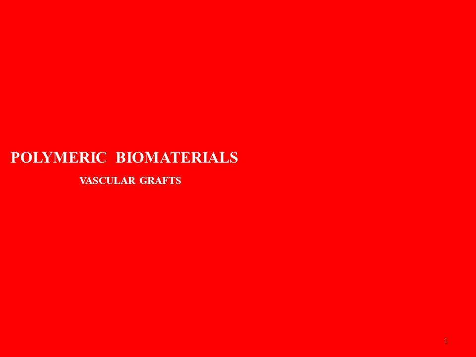 1 POLYMERIC BIOMATERIALS VASCULAR GRAFTS