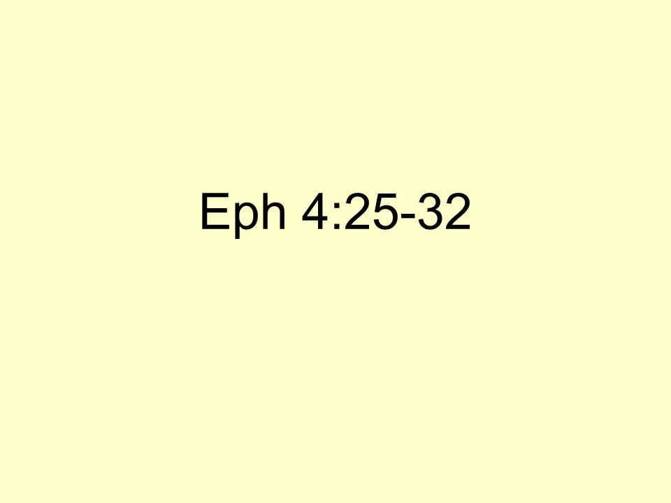 Eph 4:25-32