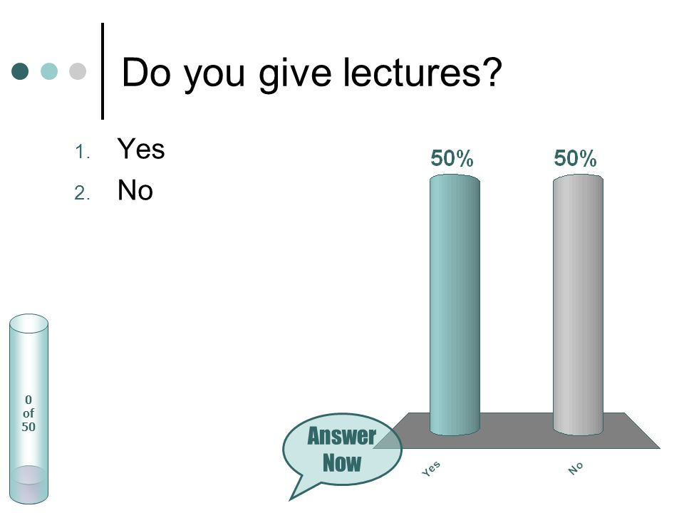 Name the three most important aids/tools you need or would like to have when listening to a lecture.
