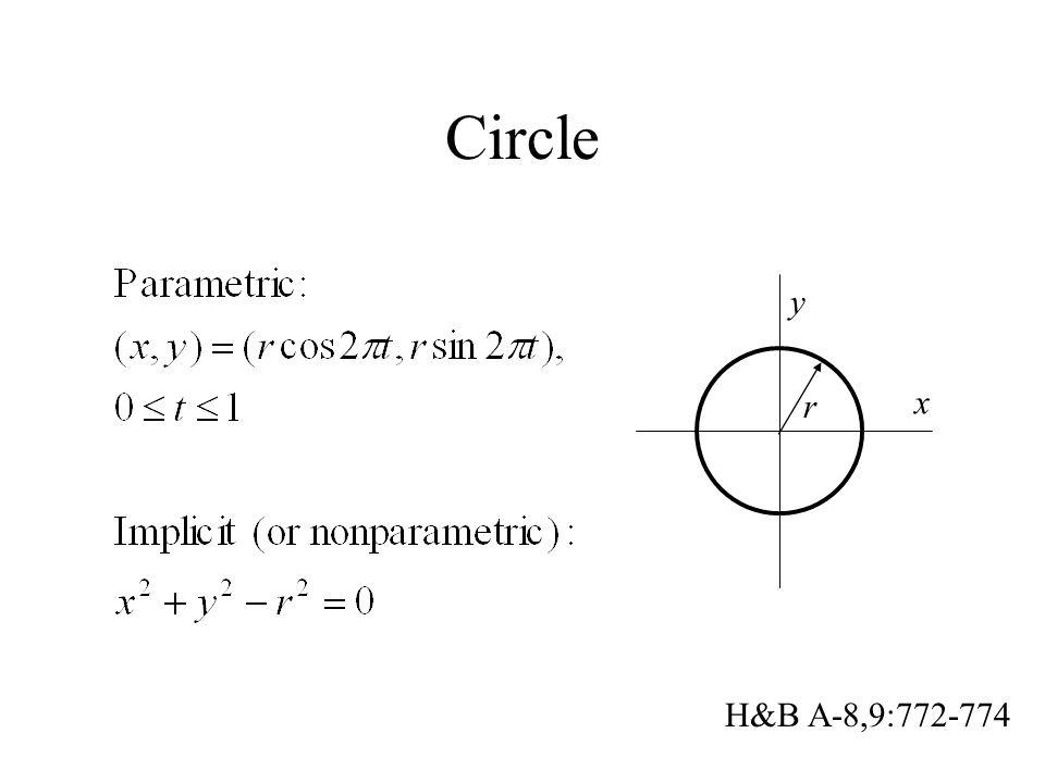 Circle x y r H&B A-8,9:772-774
