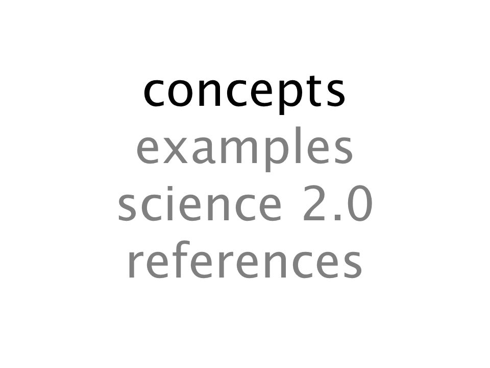 With social bookmarking … … you can better keep track of your links and references … you implicitly share knowledge with other scientists