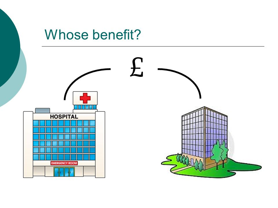 Whose benefit? £