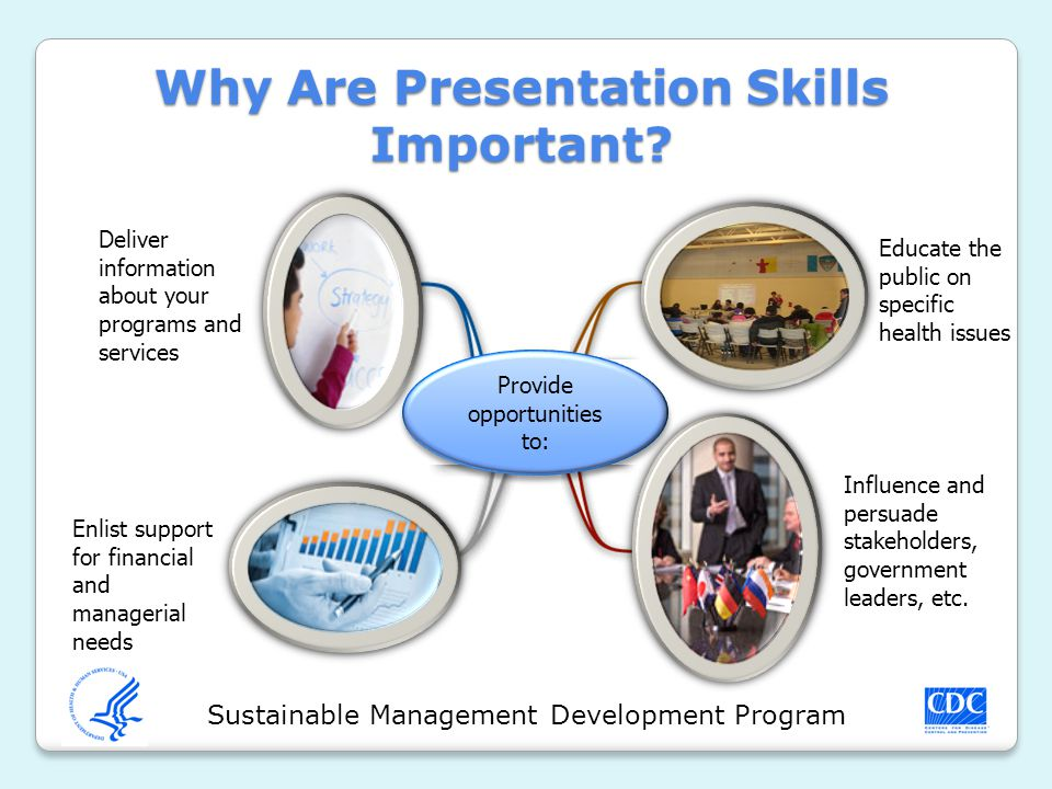 Sustainable Management Development Program Why Are Presentation Skills Important.