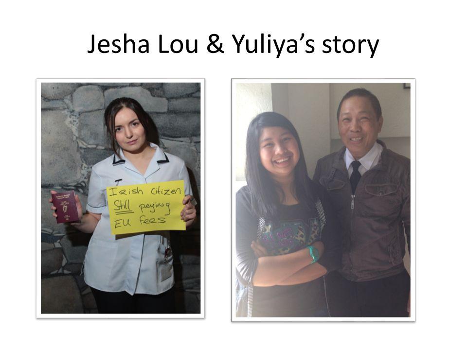 Jesha Lou & Yuliya's story