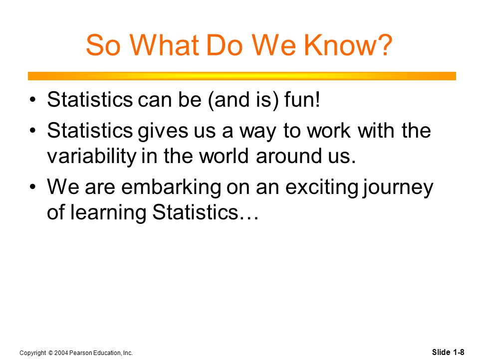 9 WHAT IS STATISTICS.