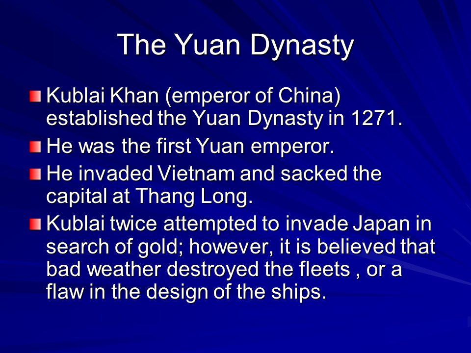 Biography of Kublai Khan KKKKublai was born on September 23, 1215.