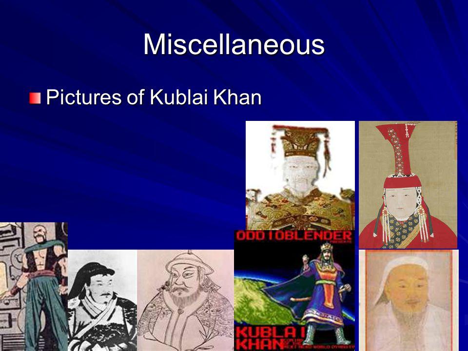 The Palace of Kublai Khan