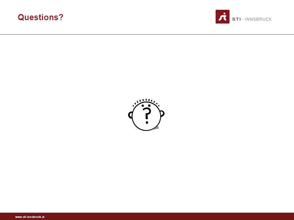 www.sti-innsbruck.at Questions