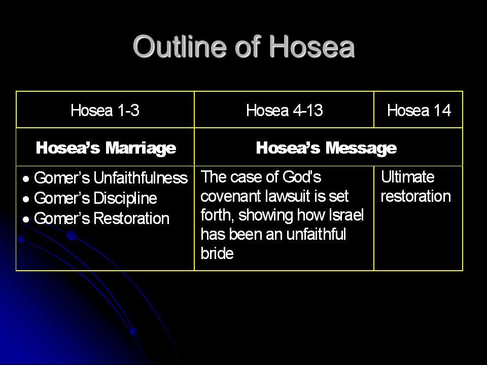 Outline of Hosea