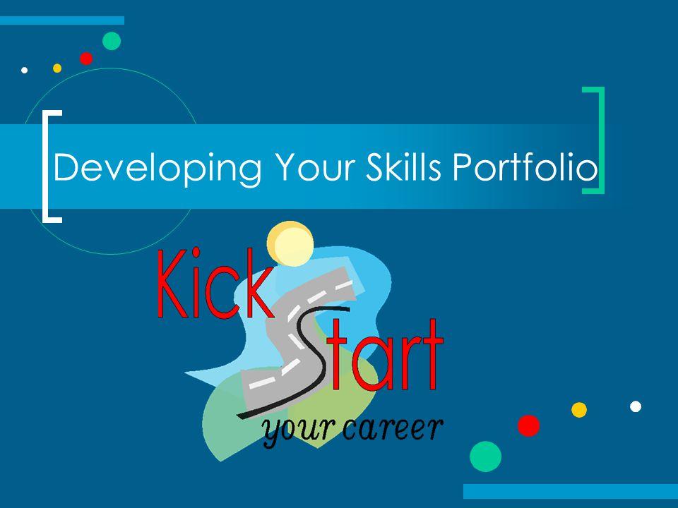Developing Your Skills Portfolio