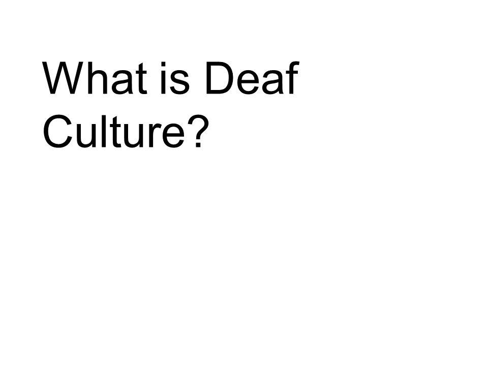 Timeline Pre- 1960's Manualism Deaf World 1960's Discovery of true ASL language Dr.