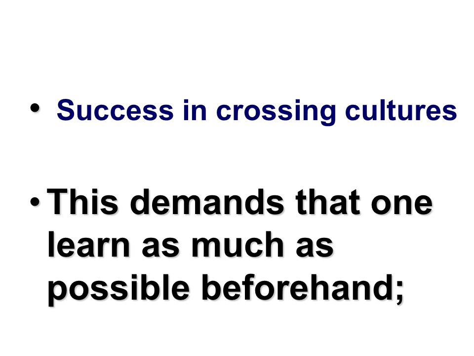 A culture is a set of learned behaviors of a group of people born into a culture.