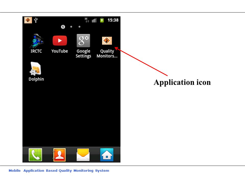 Mobile Application Based Quality Monitoring System Application icon