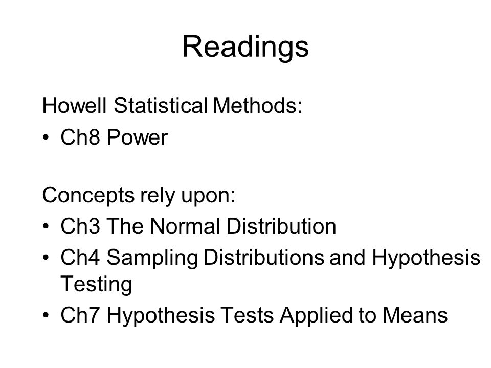 Hypotheses in Inferential Testing Null Hypothesis (H 0 ): No differences Alternative Hypothesis (H 1 ): Differences