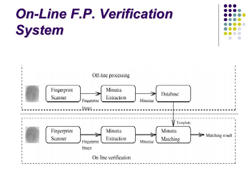 On-Line F.P. Verification System