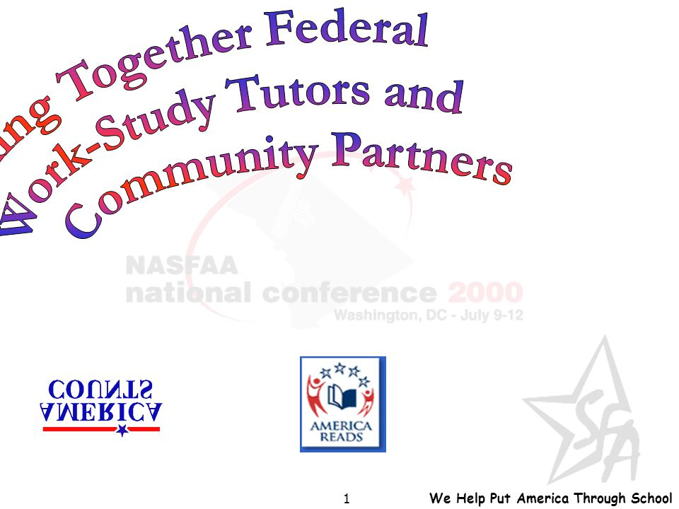 We Help Put America Through School 1