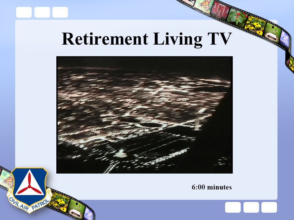 Retirement Living TV 6:00 minutes