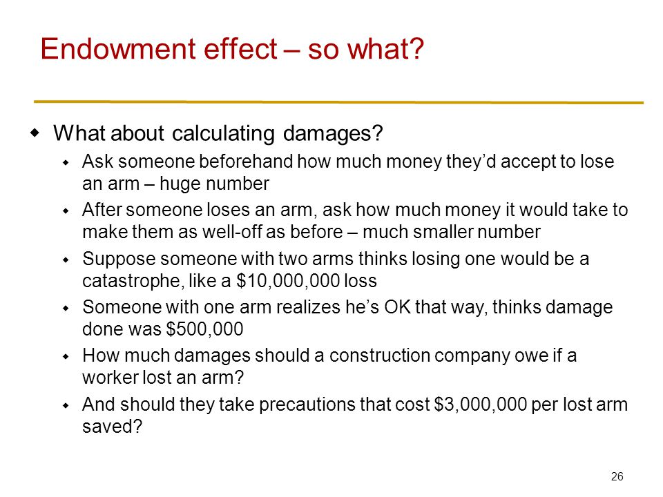 26  What about calculating damages.