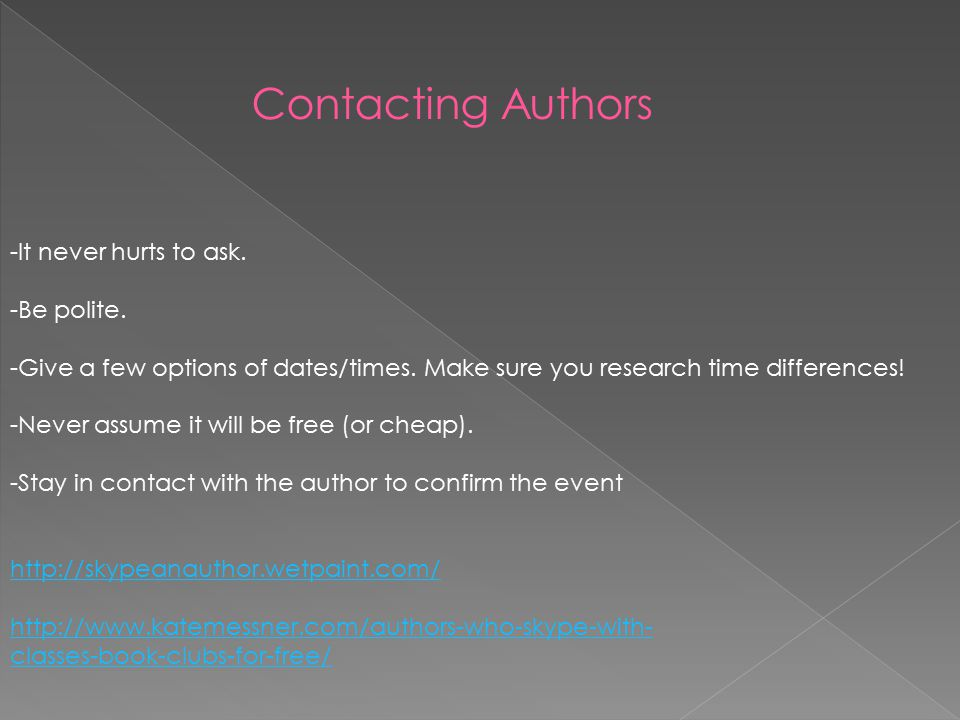 Benefits -Free -Easy to Use -Often includes popular authors