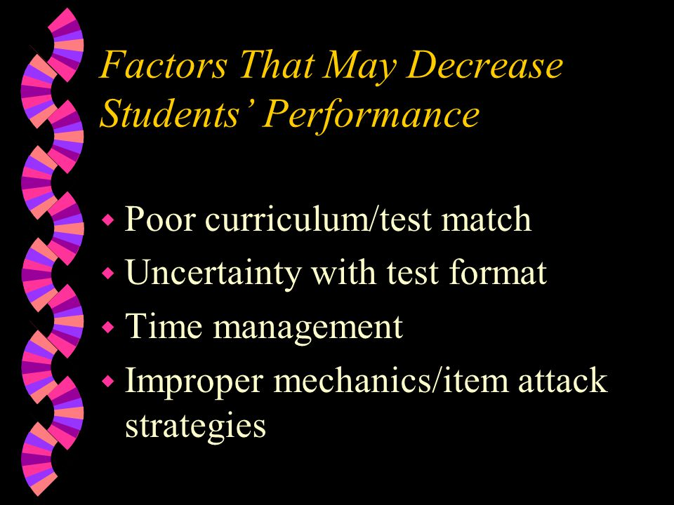 Good Instruction… Good Test Scores.