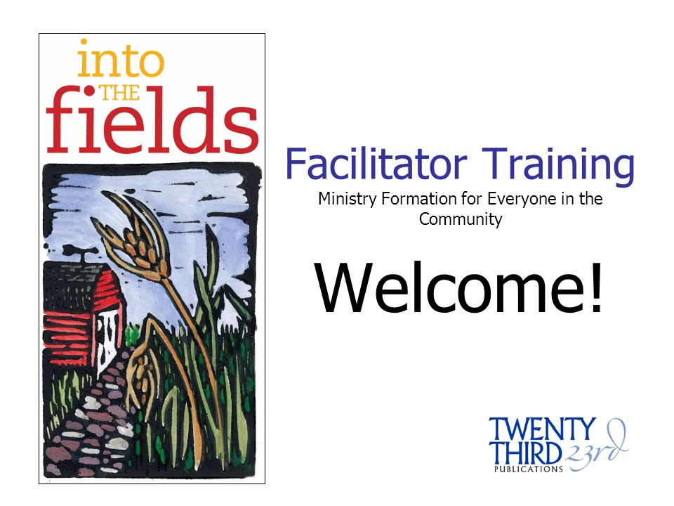 Welcome to Into the Fields.