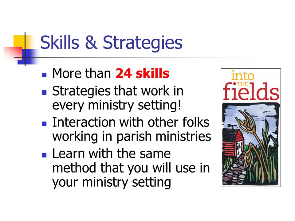 Model by participating yourself Dig into the work yourself.