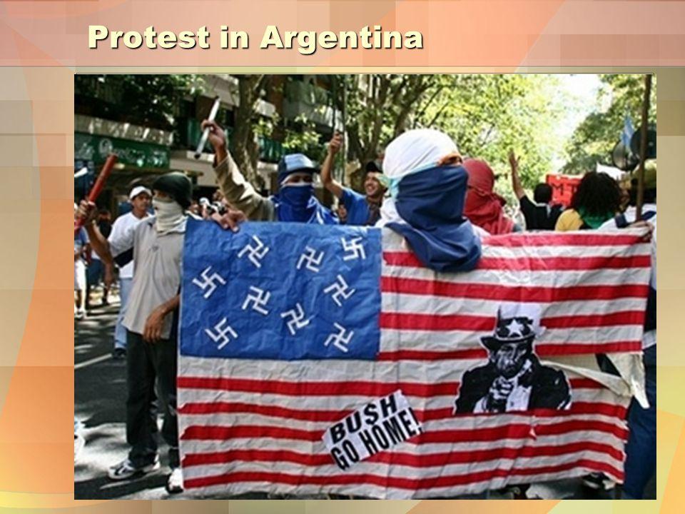 Protest in Argentina