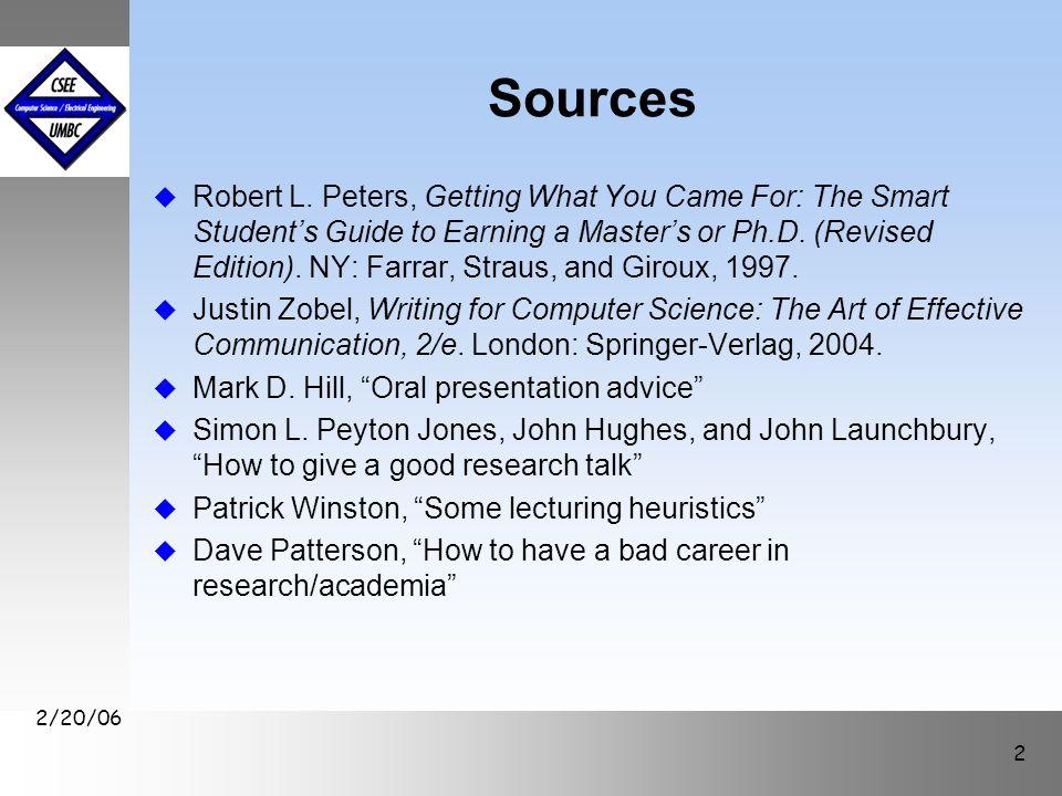 September1999 October 1999 2/20/06 3 Outline u Rules for presentations u General guidelines for preparing talks u Paper presentation guidelines for this class