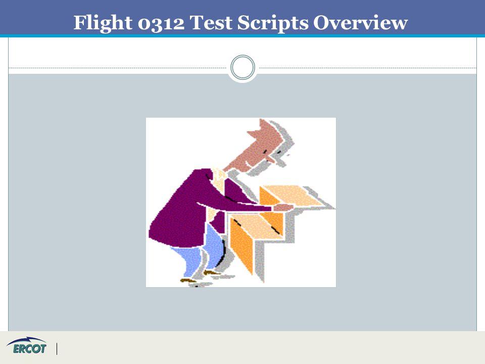 Flight 0312 Test Scripts Overview