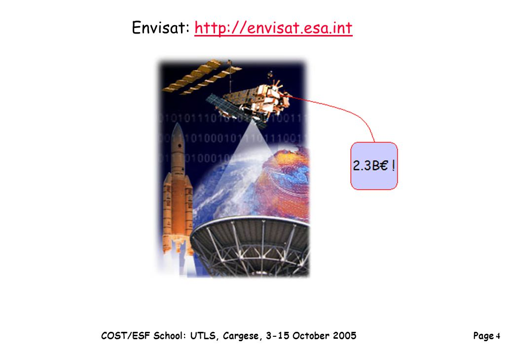 Page 25 COST/ESF School: UTLS, Cargese, 3-15 October 2005  Establish basis for assimilating SWIFT observations (u, v; ozone)  Investigate scientific merits of SWIFT observations Models used:  Truth (ECMWF directly, or forcing a CTM)  Assimilation system (Met Office) (cf.