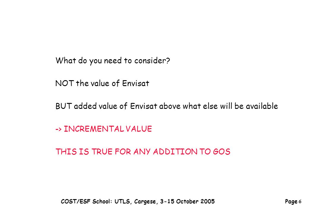 Page 27 COST/ESF School: UTLS, Cargese, 3-15 October 2005 Several tests -> robustness (cf.