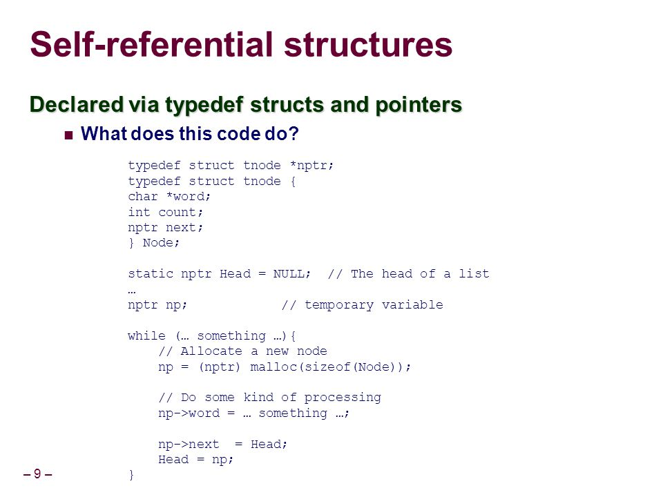 – 60 – CS 201 Embedded Assembly