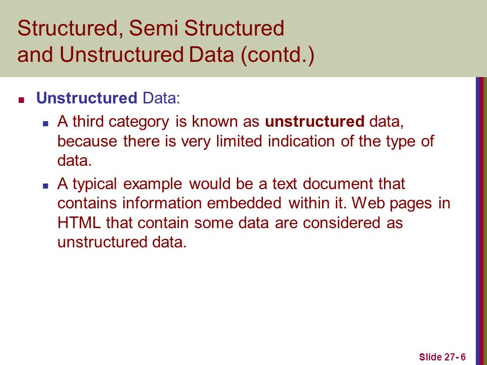 Slide 27- 47 Some examples of XPath expressions FIGURE 27.14 Some examples of XPath expressions on XML documents that follow the XML schema file COMPANY in FIGURE 27.5.