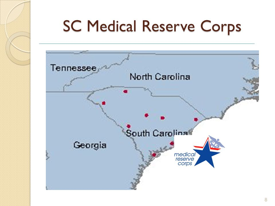 SC Medical Reserve Corps 8