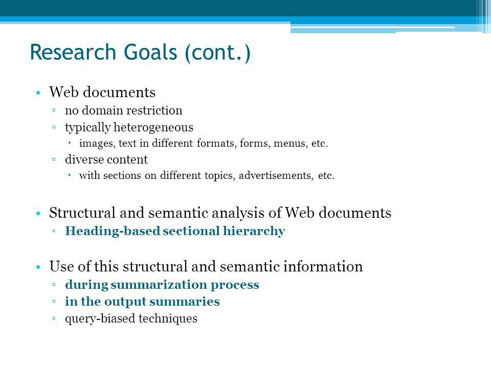 Part of an Example Web Document