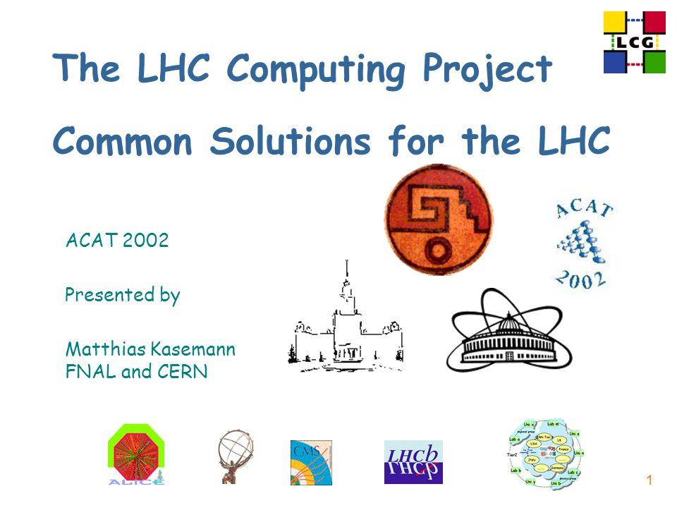 Matthias Kasemann, FNAL and CERN, June 25, 2002 62/39 RTAG?: Evolution of OO language usage nLong-term evolution of C++ nRole for other language(s), e.g.