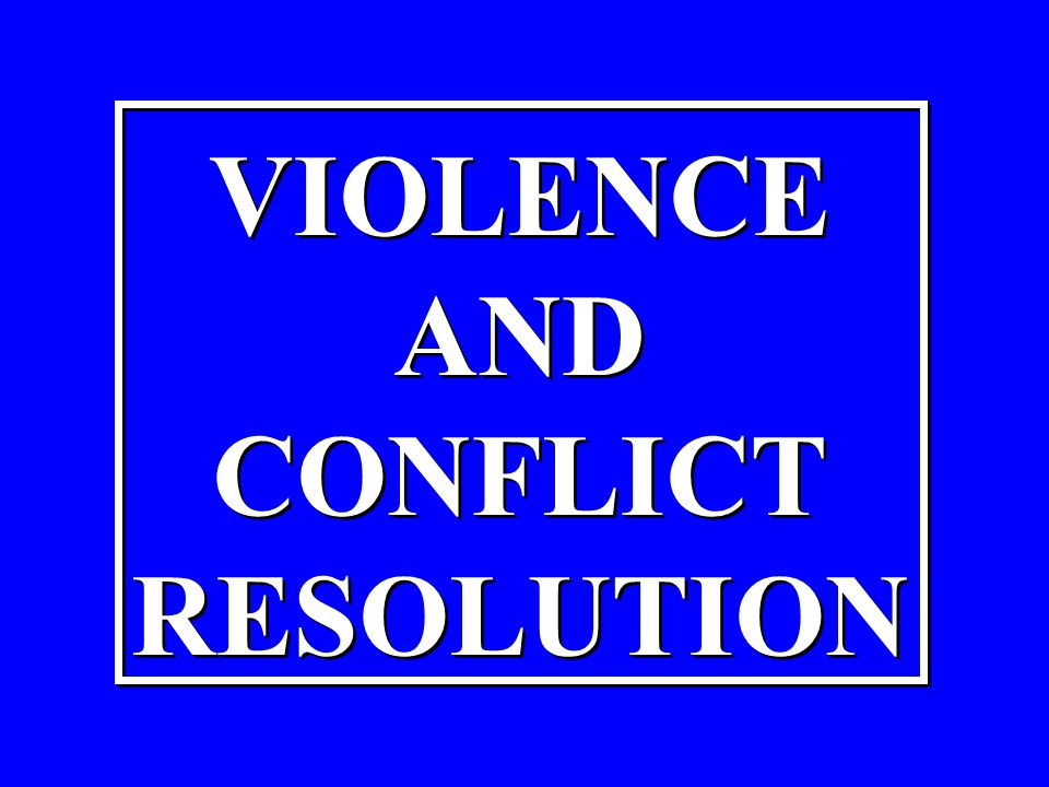 THE PROCESS OF RESOLVING CONFLICTS WITH THE HELP OF A NEUTRAL THIRD PARTY THE PROCESS OF RESOLVING CONFLICTS WITH THE HELP OF A NEUTRAL THIRD PARTY
