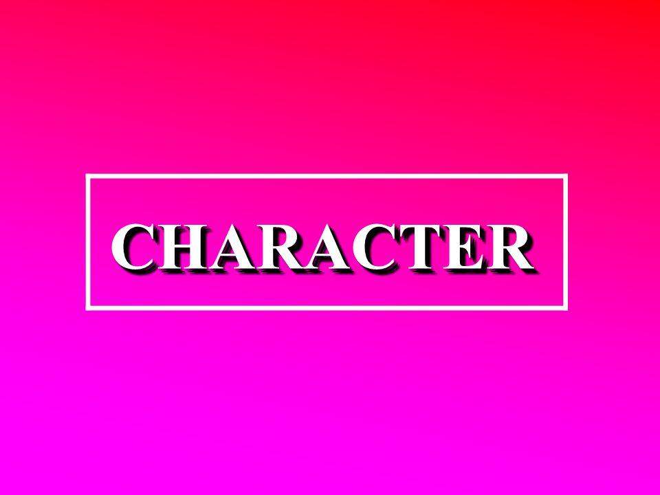 CHARACTERCHARACTER