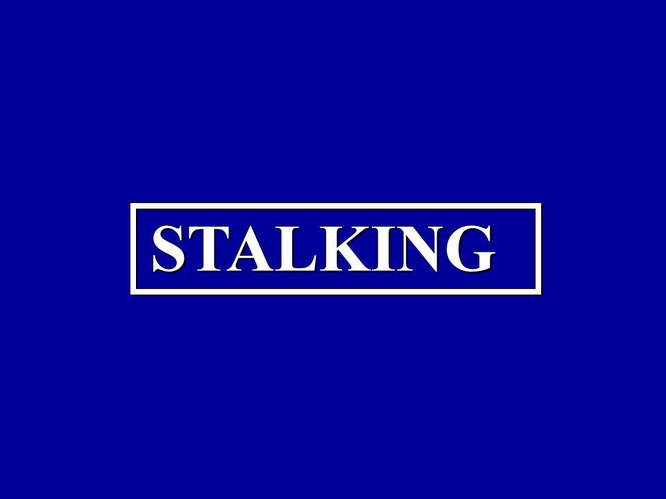 STALKING STALKING