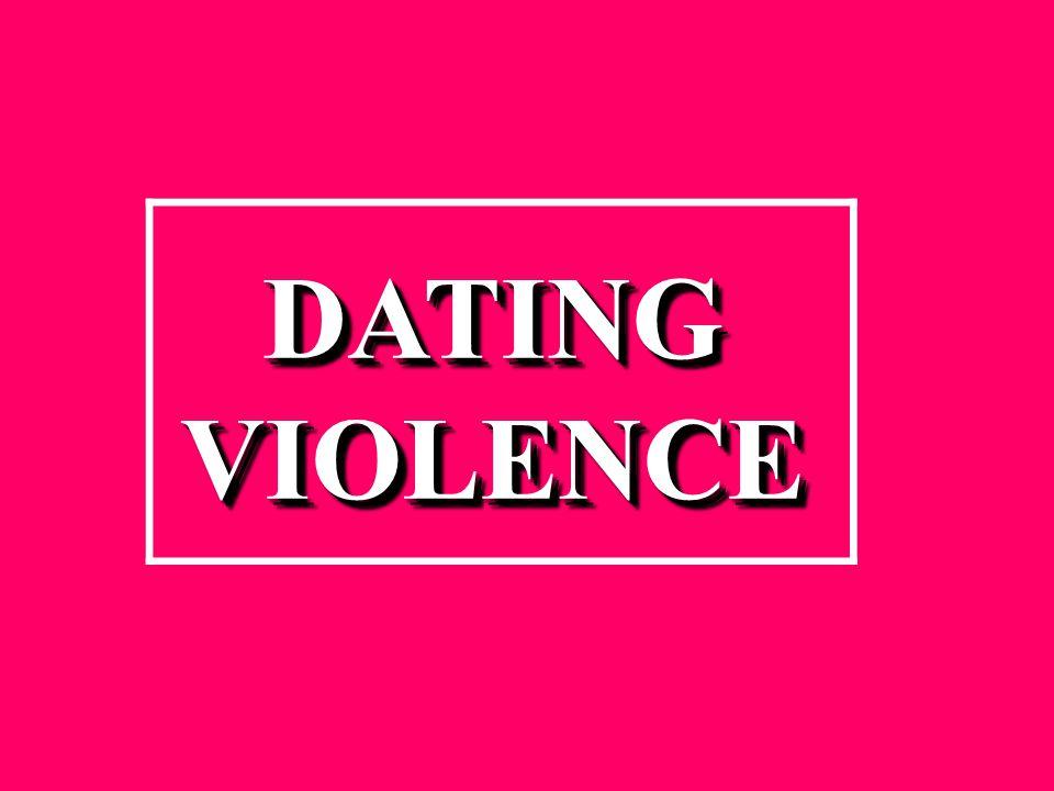 DATINGVIOLENCEDATINGVIOLENCE