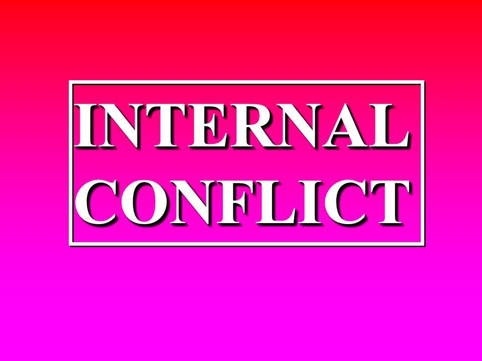 INTERNALCONFLICTINTERNAL CONFLICT