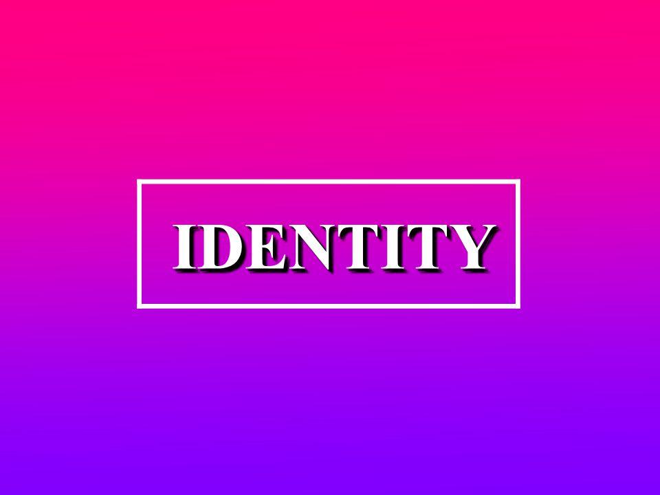 IDENTITYIDENTITY