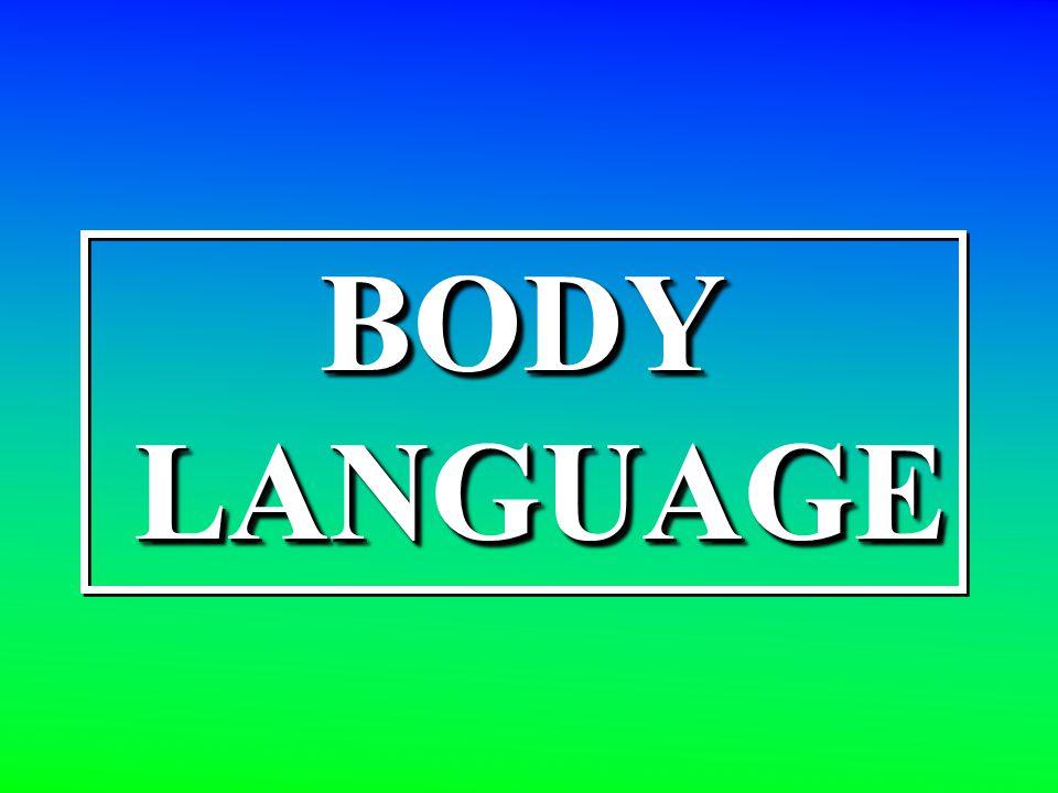 BODY LANGUAGE LANGUAGEBODY
