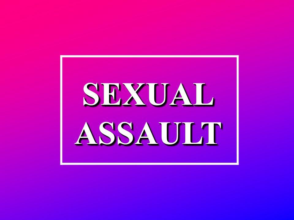 SEXUALASSAULTSEXUALASSAULT
