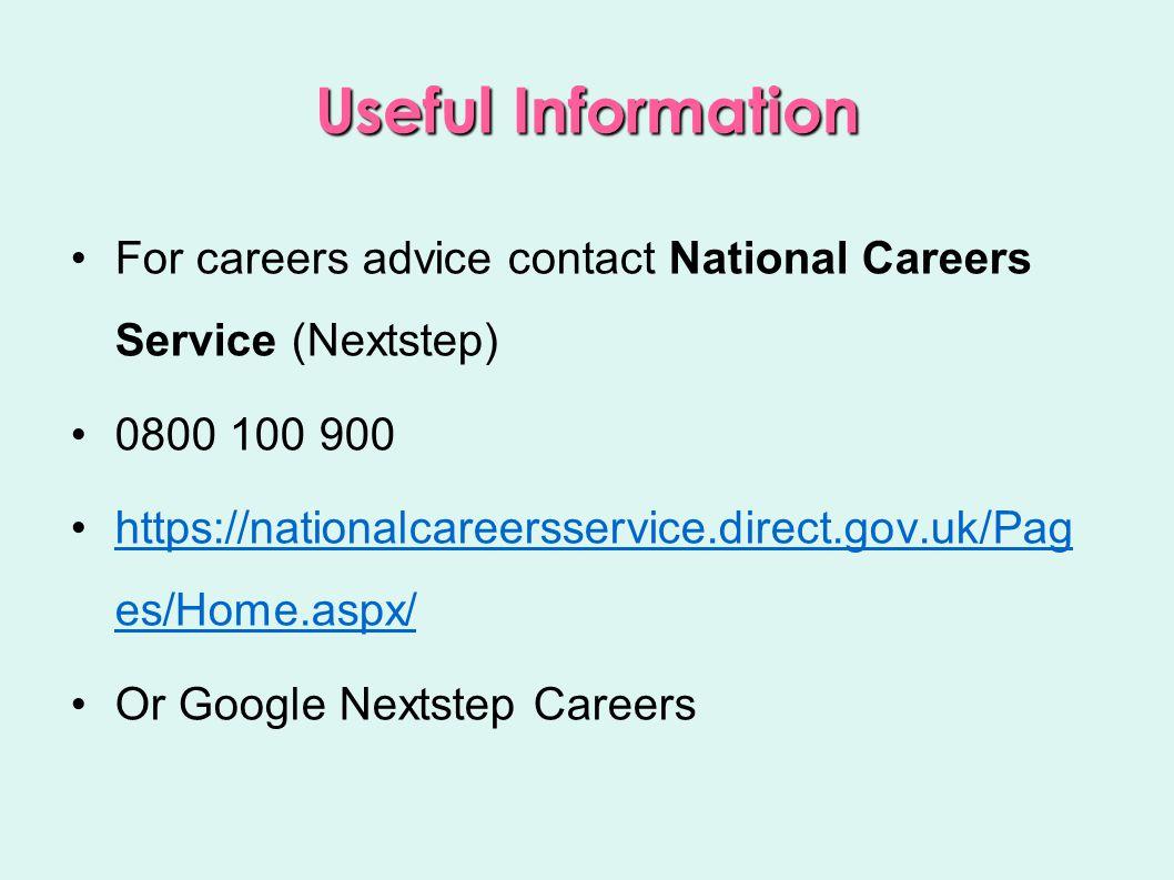 Websites Virtual job interview: http://career-advice.monster.co.uk/job-interview/careers.aspx See Links handout 43